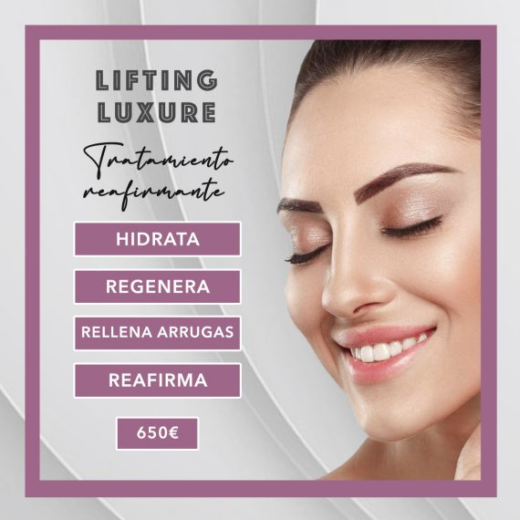 tratamiento reafirmante lifting luxure